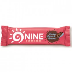 9Nine - Double Cocoa & Coconut - 20 x 40g