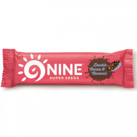 9Nine Brand -Double Cocoa & Coconut - 20 x 40g