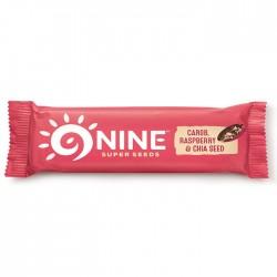9Nine Brand Carob Raspberry & Chia Seed 20 x 40g