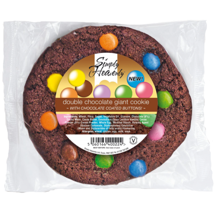 Simply Heavenly Cookie Chocolate Dotty 16 x 80g