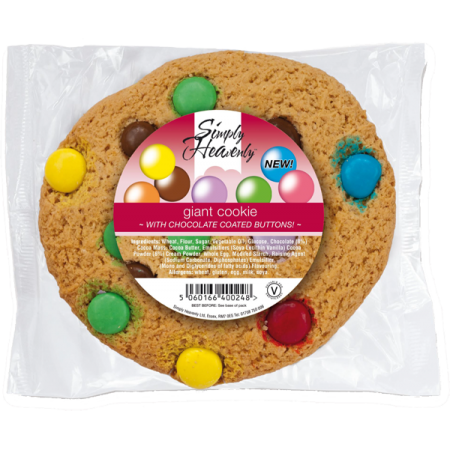 Simply Heavenly Dotty Cookie - Plain - 16 x 80g