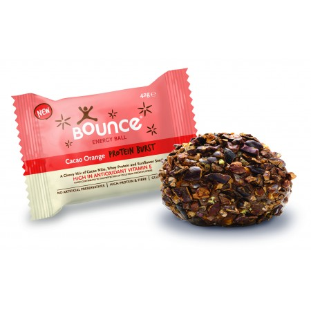Bounce Energy Balls Cocoa Orange 40 x 49g