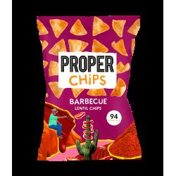 Proper Chips Lentil Chips Barbecue  (8x85g)