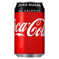 Coke Zero Cans 24x330cl