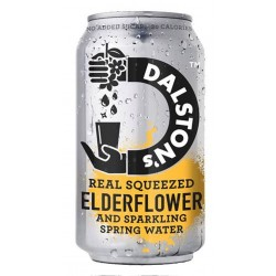 Dalston's Real Squeezed Elderflower 24 x 330ml