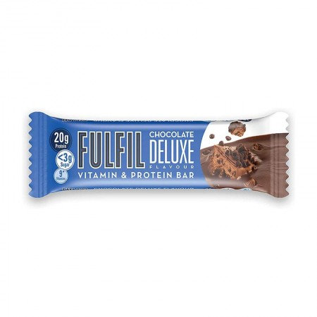 Fulfil Vitamins & Protein Bar, Chocolate Deluxe - 15 x 55g