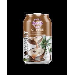 Kooco - Coconut Milk Coffee Drink 12x330ml