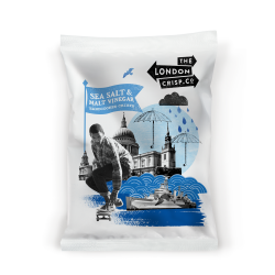 London Crisp Company Salt & Vinegar 26 x 40g