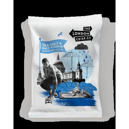 London Crisp Company Salt & Vinegar 26 x 40g