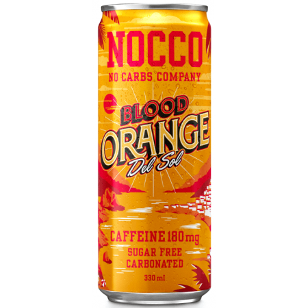 NOCCO -Blood Orange Del Sol BCAA - 12 x 330ml