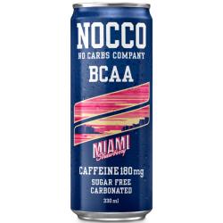 NOCCO - Miami Strawberry BCAA - 12 x 330ml