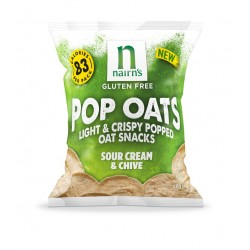 Nairns Sour Cream& Chive Pop Oats 14 x 20g