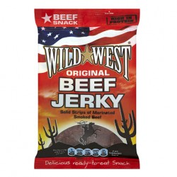 Wild West Original Beef Jerky 12 x 25g
