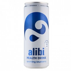 Alibi Health Drink Sparkling Blueberry 24 x 330ml