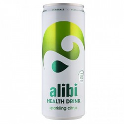 Alibi Health Drink Sparkling Citrus 24 x 330ml