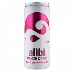 Alibi Health Drink Sparkling Pomegranate 24 x 330ml