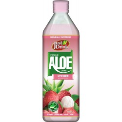 Just Drink Premium Lychee Aloe Drink 12 x 500ml