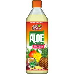 Just Drink Premium Tropical Aloe Drink 12 x 500ml