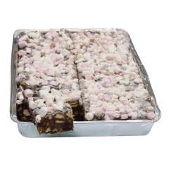 Simply Heavenly Rocky Road Traybake 14 Slices