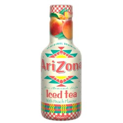 AriZona - Iced Tea with Peach - 6 x 500ml