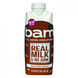 All Natural Bam Real Milk Chocolate - 12 x 330ml