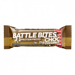 Battle Bites - Chocolate Coconut | 12 x 62g