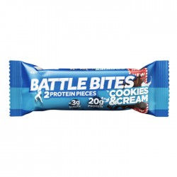 Battle Bites - Cookies & Cream | 12 x 62g