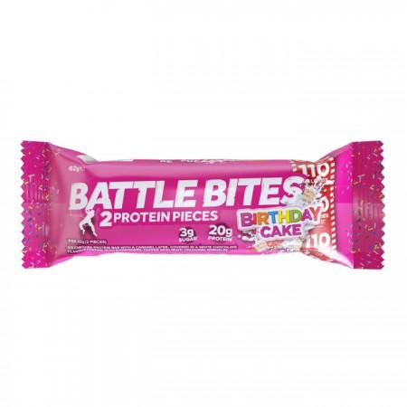 Battle Bites - Birthday Cake 12 x 62g