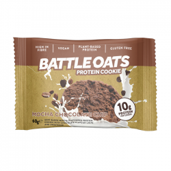 Battle Oats Cookie  - Mocha Chocolate Chip | 12 x 60g