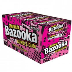 Bazooka Bubble Gum (12 x 32g)