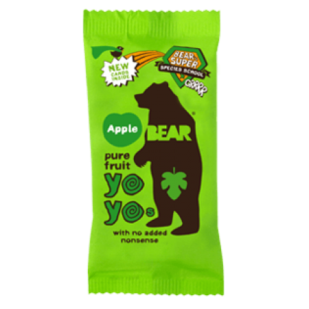 Bear Yoyo Apple Fruit Rolls 18 x 20g