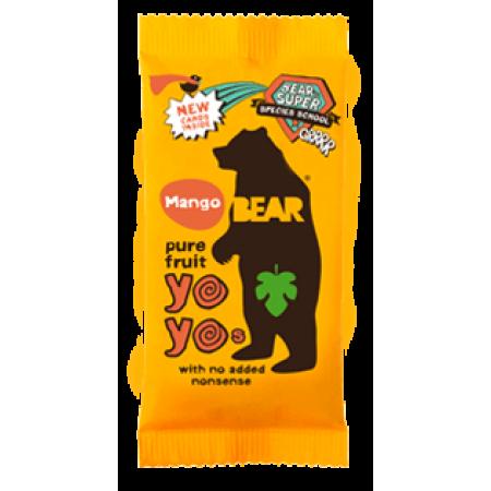 Bear Yoyo Mango Fruit Rolls 18 x 20g