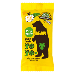 Bear Yoyo Pineapple Fruit Rolls 18 x 20g