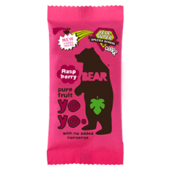 Bear Yoyo Raspberry Fruit Rolls 18 x 20g