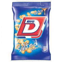 Big D Salted Peanuts (24 x 50g Bags)