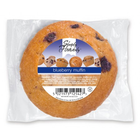 Simply Heavenly Muffin Blueberry 24 x 120g