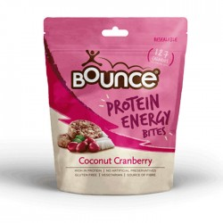 Bounce Protein Energy Bites - Coconut Cranberry 6 x 90g