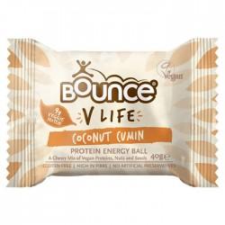 Bounce Energy Balls V Life Coconut Cumin 12 x 49g
