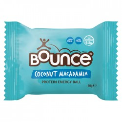 Bounce Energy Balls Coconut & Macadamia Protein Bliss 12 x 49g