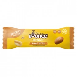 Bounce Peanut Butter Breakfast Bars - 20 x 45g