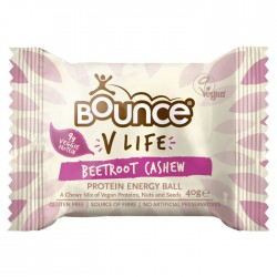 Bounce Energy Balls V Life Beetroot Cashew 12 x 49g