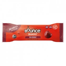 Bounce Red Berry Breakfast Bars - 20 x 45g