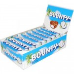 Bounty Coconut Chocolate Bars - 24 x 57g