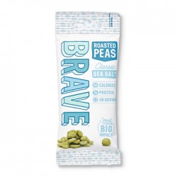 Brave Roasted Peas - Sea Salt 12 x 40