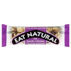 Eat Natural Sultana & Almonds 12 x 50g