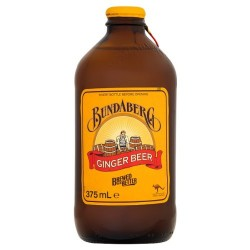 Bundaberg Ginger Beer Glass 12 x 375ml