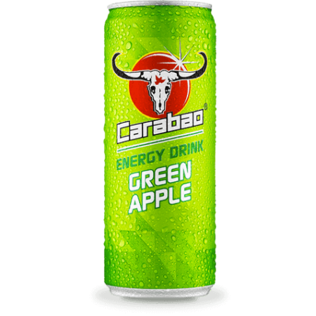 Carabao - Apple Flavour Energy Drink - 12 x 325ml