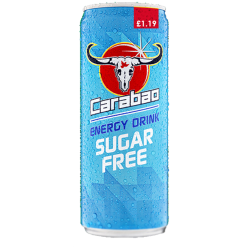 Carabao - PMP Sugar Free Original Flavour Energy Drink - 12 x 325ml