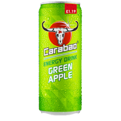 Carabao - PMP Apple Flavour Energy Drink  - 12 x 325ml
