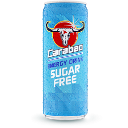 Carabao - Sugar Free Original Flavour Energy Drink - 12 x 325ml